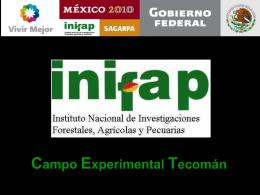 Campo Experimental Tecomán