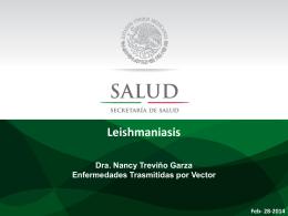 Presentación Dra. Nancy Treviño Garza