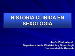 historia clinica sexologica - Dr. Mendoza Ladrón de Guevara