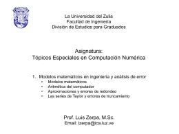 3 Topicos Especiales en Computacion