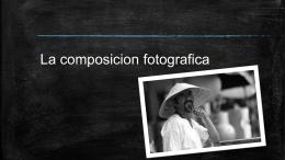La composición fotográfica