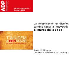 Presentación Josep Mª Monguet