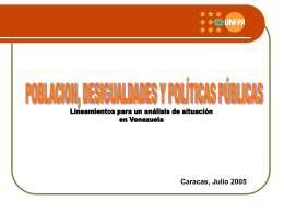 Diapositiva 1 - UNFPA Venezuela