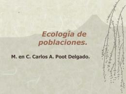 II.- Ecología de Poblaciones
