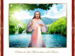Palabras de misericordia - Alianza en Jesús por María