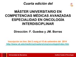 General Presentacion Master CMA 2014 (010414) con