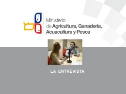 Entrevista y Rueda de Prensa