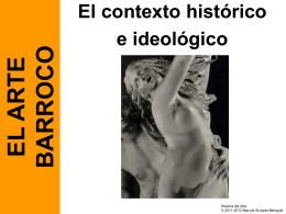 Barroco, contexto histórico - Historia