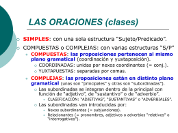 LAS PALABRAS (morfología)