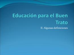 Educacion para el Buen Trato 2
