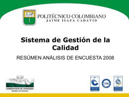 Presentación de PowerPoint - Politécnico Colombiano Jaime Isaza