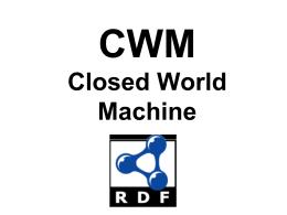 CWM notes