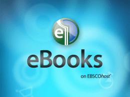 eBooks en EBSCOhost