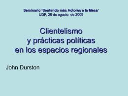 PPT John Durston