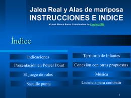 0. Instrucciones e Indice