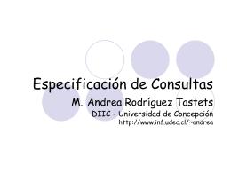 Consultas - Universidad de Concepción