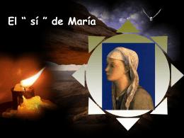 """El """" sí """" de María - Dominicas de la anunciata"""