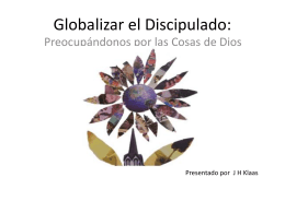 Globalizar - discipulado.net