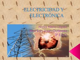 tema 5: electricidad. nuria y ana