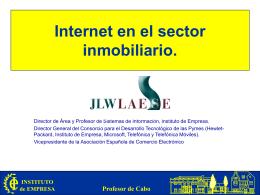 Internet en el sector inmobiliario.