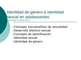 Presentación: Ps. David Amorín