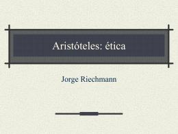 Aristóteles: ética