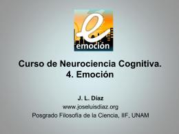 4. Emoción - José Luis Díaz