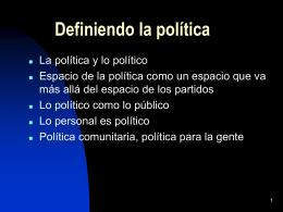 La deliberación ciudadana…
