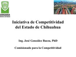 Chihuahua hacia la competitividad