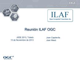 Hacia la comunidad ILAF