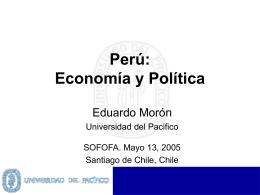 Perú: Economía y Política