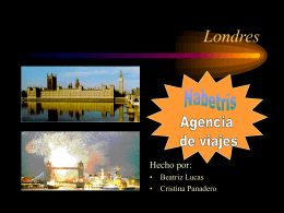 Londres - I like the idea