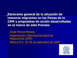 OIM - Conferencia Regional sobre Migración