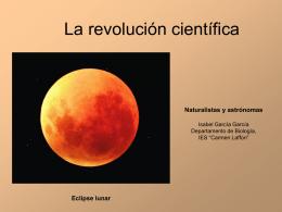 Naturalistas y Astrónomas