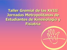 Taller Gremial 2007 - Jornadas Metropolitanas de Estudiantes de