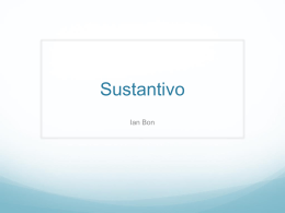 Sustantivo - Adele Harrison Middle School