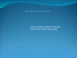 Uso adecuado de sofware - ParqueSoft