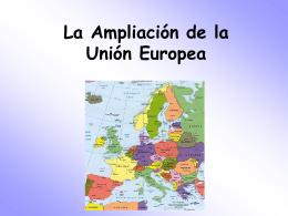 La Ampliacion de UE