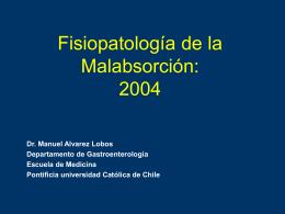 Malabsorción - Escuela de Medicina