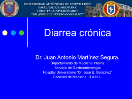Diarrea-crónica - Facultad De Medicina