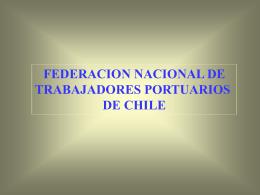 Reforma Laboral - Federación Nacional de Trabajadores Portuarios