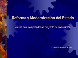 Reforma y Modernización del Estado claves para comprender