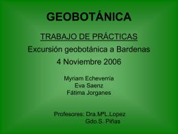 """""""Bardenas"""" Echeverría-Jorganes"""