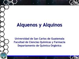 Clase No. 6 Alquenos y Alquinos 2014