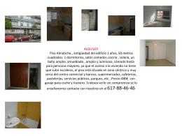 Almatriche Las Palmas de Gran Canaria 480€/mes