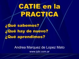 CATIE - Instituto de Psiquiatría Biológica Integral
