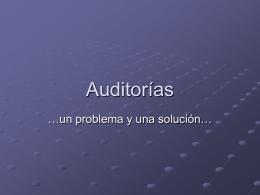 16-Auditorias - Agrupación 15 de Junio – MNR