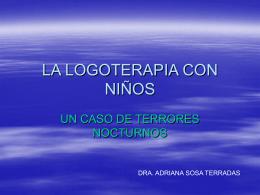 LA LOGOTERAPIA CON NIÑOS