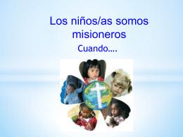 Decalogo del niño/a misionero