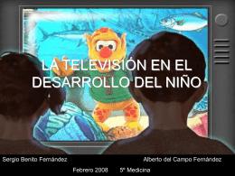 LA TELEVISIÓN EN EL DESARROLLO PSICOMOTOR DEL NIÑO